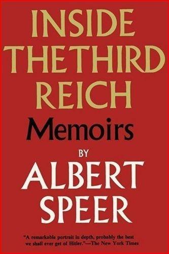 Inside the Third Reich - Albert Speer 1970 HCDJ 1st/1st