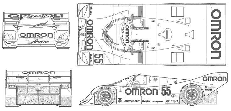 302 best racing car blueprint images on pinterest