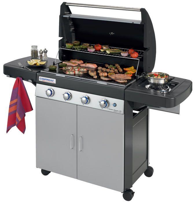 Un barbecue à gaz pour profiter des grillades à tous les temps et rapidement. Découvrez le barbecue à gaz Campingaz 4 Series Classic LXS sur Raviday-barbecue.com #raviday #barbecue #gaz #series #classic #terrasse #jardin #repas #amis #famille #grillade #grill #viande #poisson #légumes