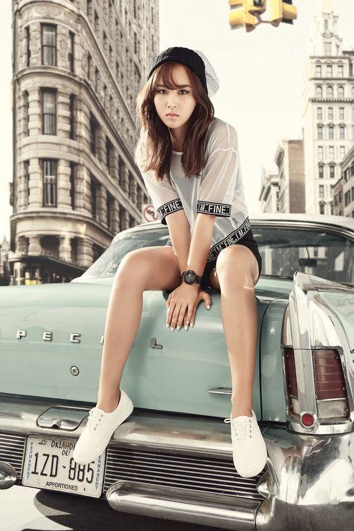 Girls Generation Yuri - Born in South Korea in 1989. #Fashion #Kpop