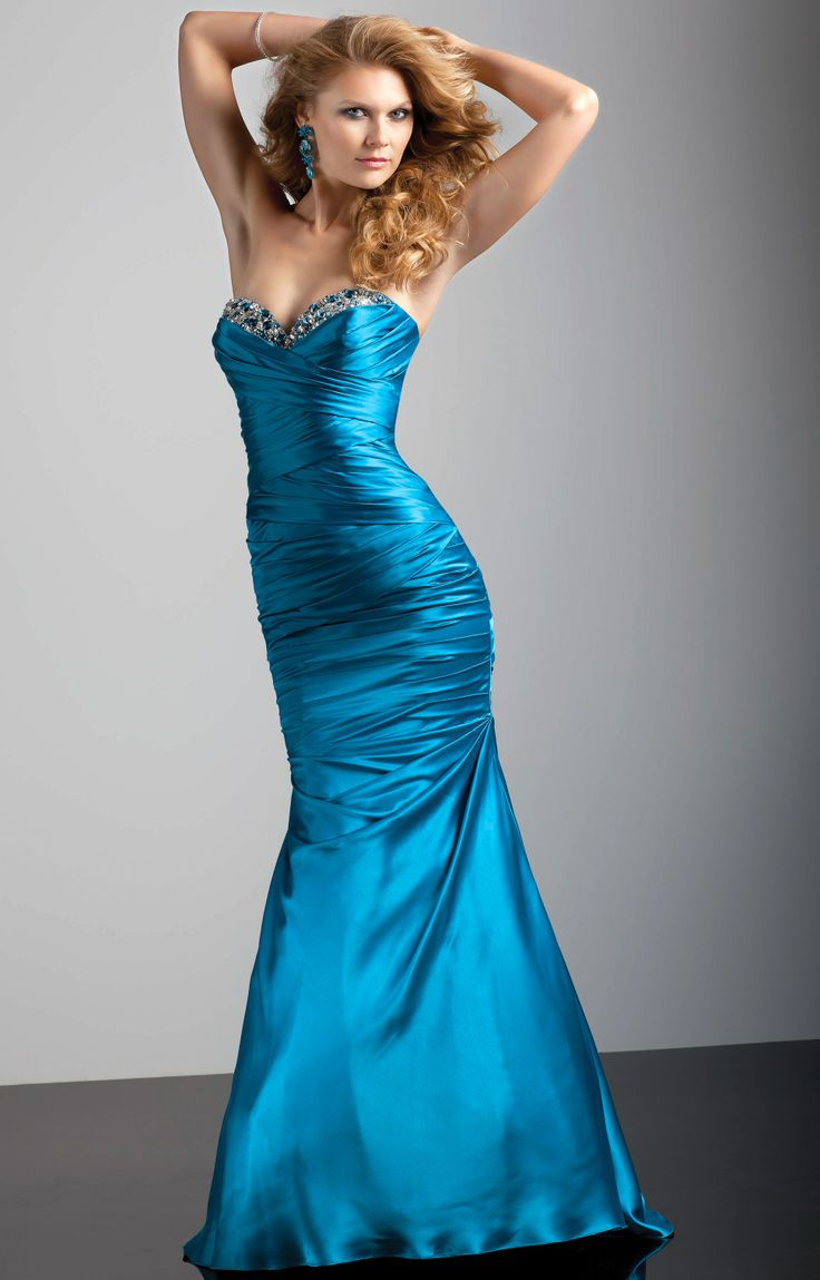 Mori Lee loves your body! Size 16 taffeta ruched bodice will hugs those well defined curves!