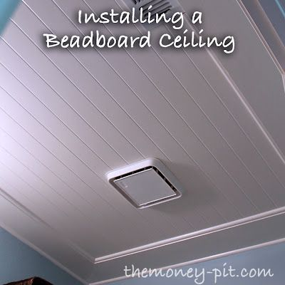 Such great character: Beadboard Ceiling. Good for covering Stucco/Popcorn ceilings too. My parents did this for the garage that they turned into an extra bedroom years ago!!!