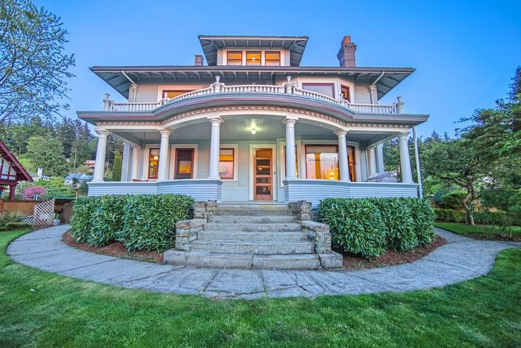 17 best images about american foursquare homes on for Kit homes alaska