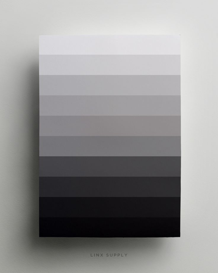Monochrome Poster - Available at linxsupply.com