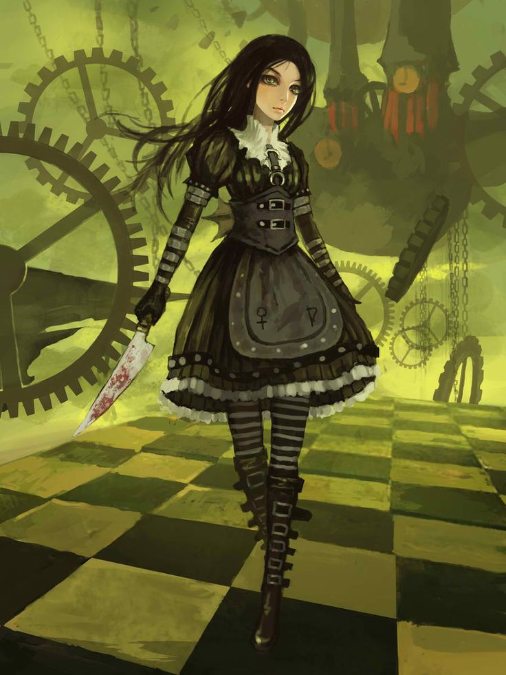 Alice Madness Returns--- Not really a creepypasta, i don't think, but I love the game otherwise!!! :D