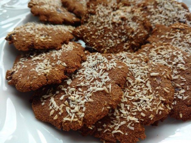 chocolade kokos koekjes