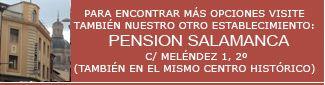 SALAMANCA | 37 euros la triple.  http://www.pensionlosangeles.com/  Teléfono/Fax: 923 21 81 66 / 923 057 444 (provisional) Móvil/Whatsapp: 606 757 396   PRECIO  Habitación individual: 15 - 25 euros/noche  Habitación doble: 25 - 60 euros/noche  Habitación triple: 45 - 80 euros/noche  (I.V.A. ya incluido)