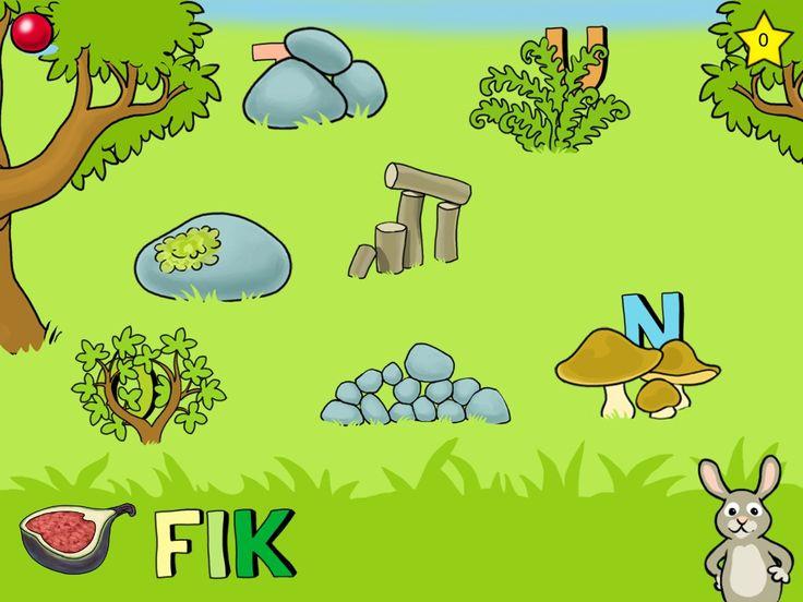Recension av Stavningslek - Hitta gömda bokstäver och stava ord på ett lekfullt sätt