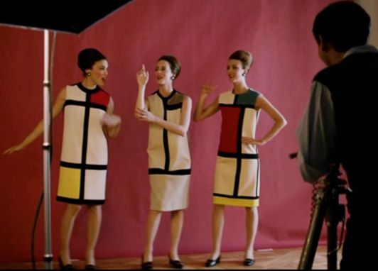 Top 67 best 1960s Mondrian Fashion images on Pinterest | Color  QP09