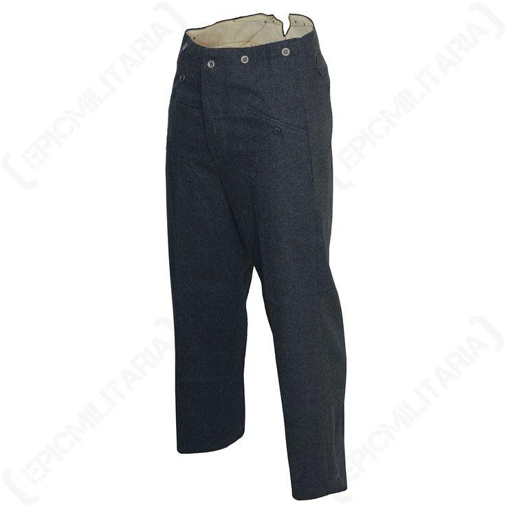 WW2 Luftwaffe M40 Wool Trousers