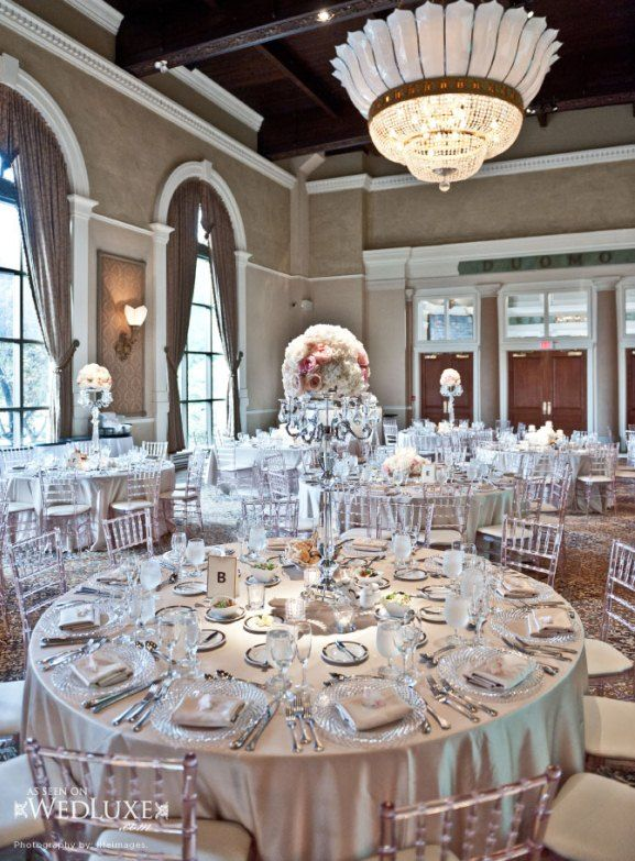 White And Silver Wedding Theme Weddings Romantique Decoration Ideas