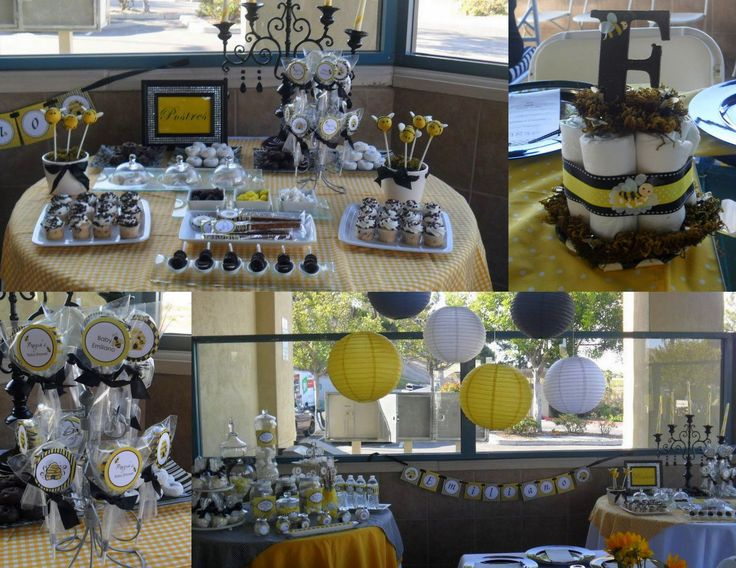 Take A Look At This Amazing Bumble Bee Baby Shower Planned And Decorated By Marlene Echavarria