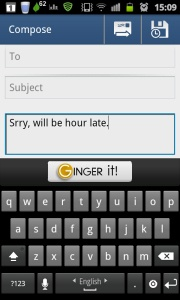 "information on Ginger Software - ""brings its proofreading keyboard to Android to let you fix typos & grammar in any app"""