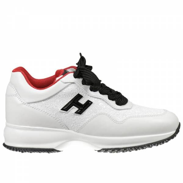 Hogan Club White Sneakers For Women | Hogan Sneakers GYW00N0V270 DPE on sale online at Giglio.com