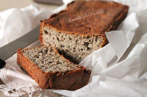 Pane con farina di grano saraceno. Un pane leggero ideale per le prime colazioni ipocaloriche. Da Rossella In Padella Giallozafferano