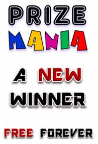 At PRIZE MANIA you can win in one of six categories: Smart Phone, Digital Camera, Surprise Gift, Jewelry, Shopping Jackpot and Cash Jackpot. Register now for FREE and you could be the next winner in a few minutes!