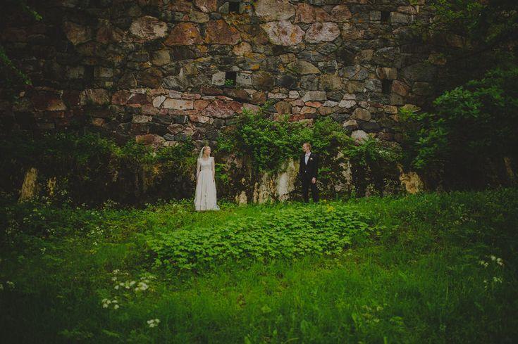 Creative wedding portraits / Johanna Hietanen