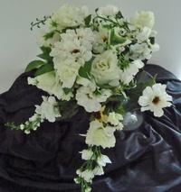 Großes Rosen-Zinien-Bouquet 45 cm / DM 40 cm - einfach1Laden.de - Ihr Onlineshop für Geschenke und Wohnaccessoires!