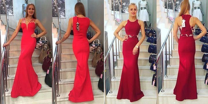 Rote Abendkleider lang günstig bilder #clknetwork #dazzupde #abendkleider #cocktailkleider #ballkleider #eveningdresses #cocktaildresses #promdresses #partykleider #partydresses