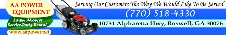 Find the best lawn mower parts at AA Power. We provides best mowers parts in whole atlanta.