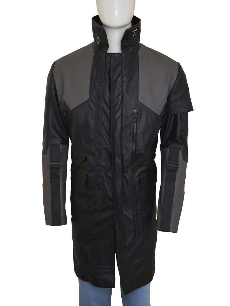 Adam Jensen Deus Ex Game Coat | Top Celebs Jackets