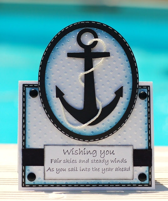 Paper Creations by Kristin: Anchor Card