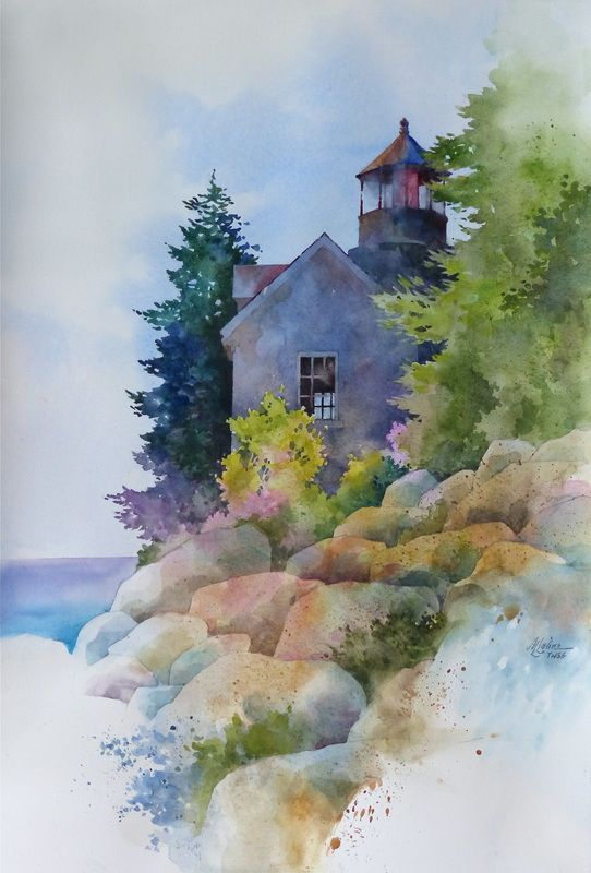 Alexis Lavine, NWS<br />Luminous Watercolors <br />& Inspiring Art Instruction