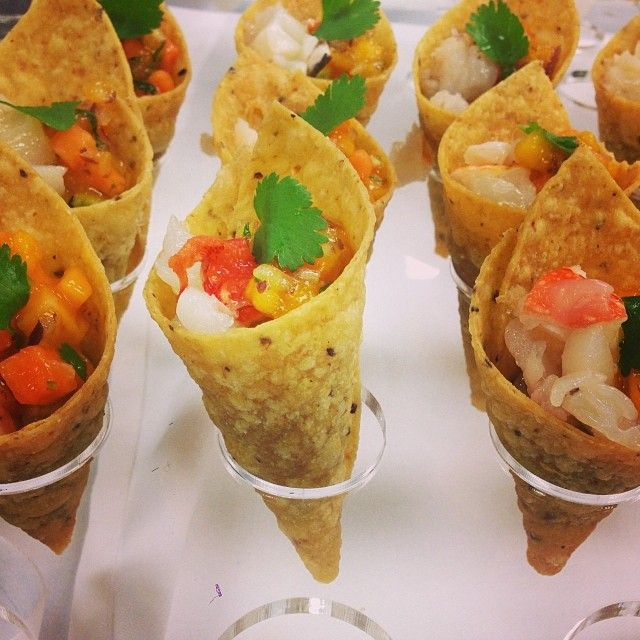 Repinned from #RickBayless at #CaymanCookout: #caymaneats Gala Dinner: my appetizers: local ...