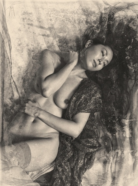 by Tano Mallia ( #Milano #Italy ) #Vintage #Antique #Nude #Art #Sepia #Dream #Japan #JapaneseModel #Photography