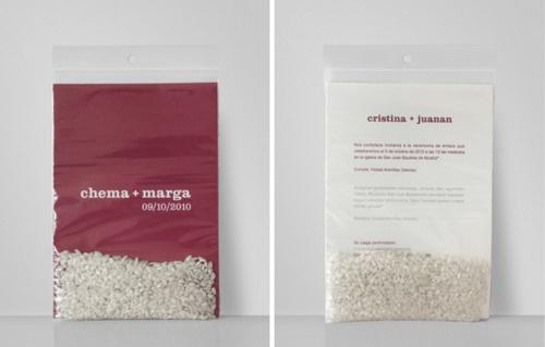 saquinho de arroz