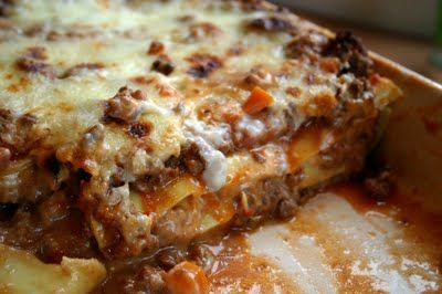 Venison Lasagna- Another venison one to try!
