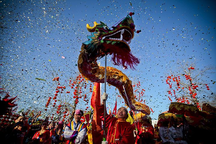 It's Chinese New Year. Year of the Dragon!