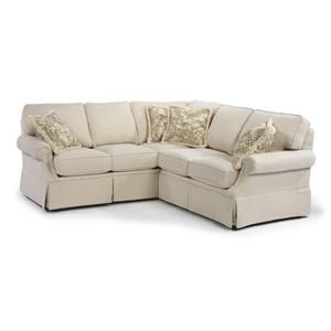 jennings sectional by flexsteel furniture u0026 appliance sofa sectional ohio youngstown cleveland pittsburgh