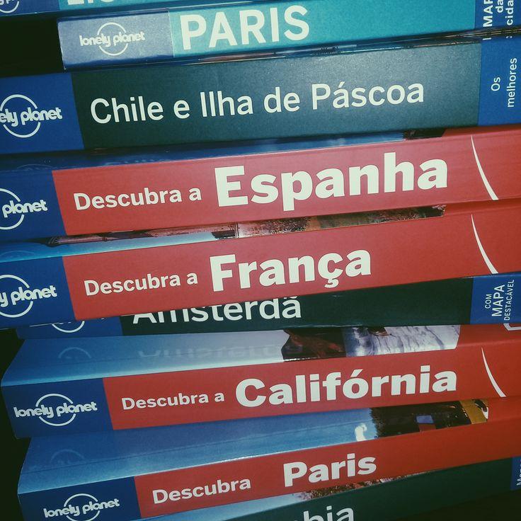 Guia de Viagem  Lonely Planet, Descubra, Paris, Ilha de Páscoa, Chile, França, Califórnia, países, mulheres viajantes, na estrada com as minas