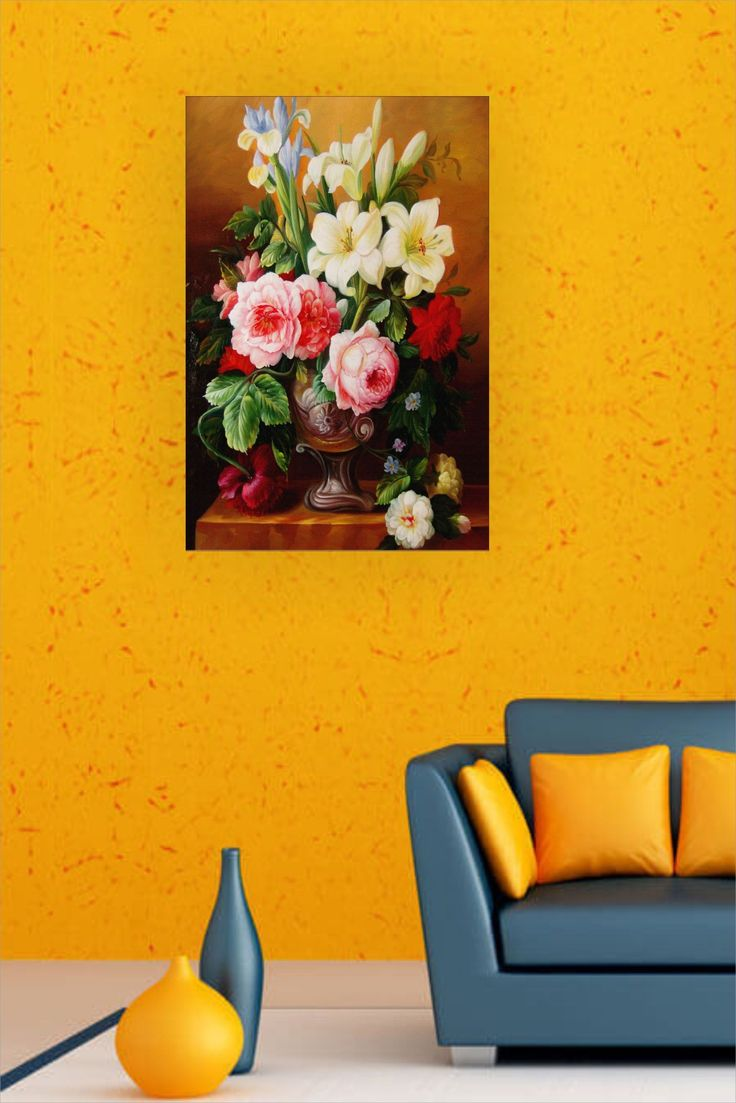Floral wall sticker in 2020 floral wall sticker