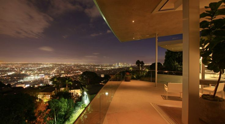 It offers sprawling views of the surrounding Hollywood Hills.  (McClean Design)