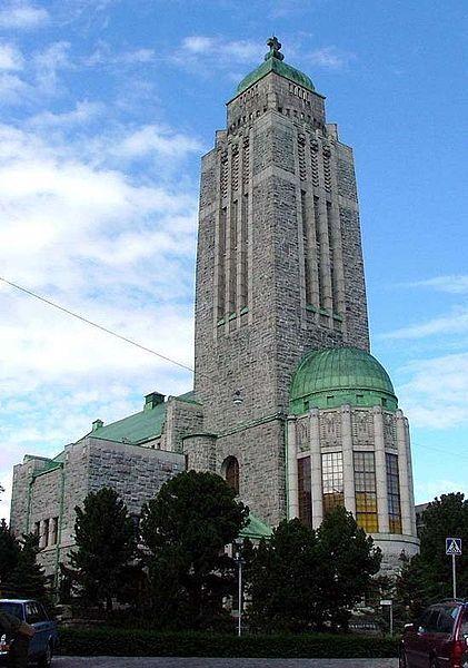Kallio church, Helsinki Lars Sonck