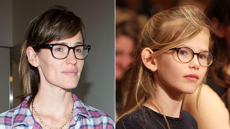 Celebrity Kids Who Look Just Like Their Famous Parents - Jennifer Garner and Violet Affleck  - from InStyle.com