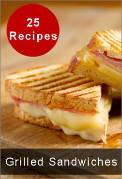 25 Grilled Sandwiches.  Might try some of these in the summer when you don't want to turn the oven on.