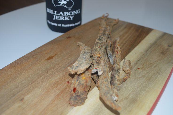 Salt and Vinegar Beef Jerky. Delish!