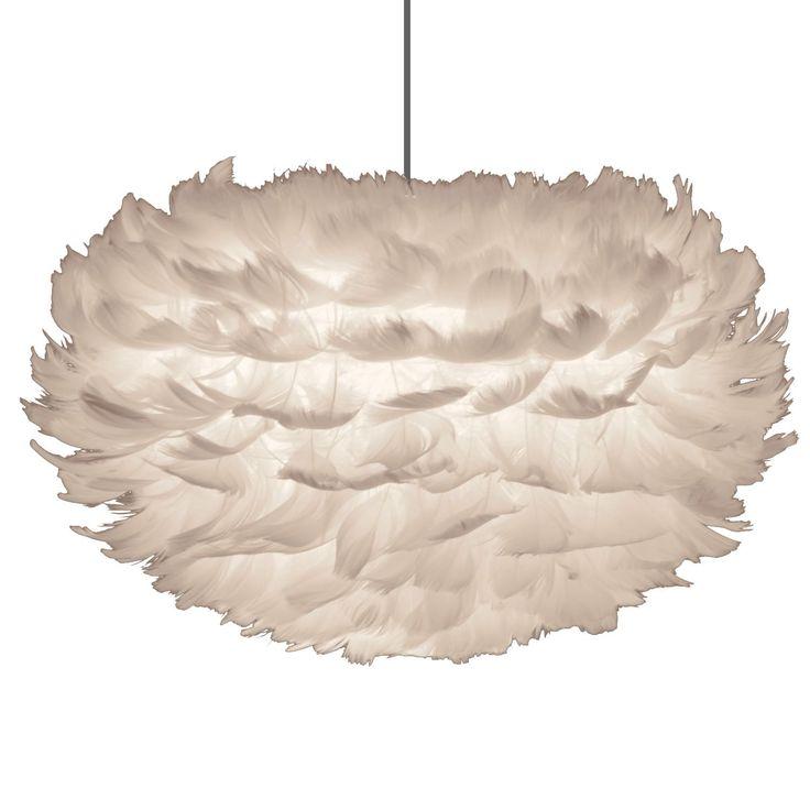 Eos fjäderlampa pendel S, vit i gruppen Belysning / Lampor / Taklampor hos RUM21.se (117008)