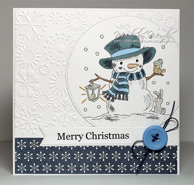 First card of 2015.... | docrafts.com