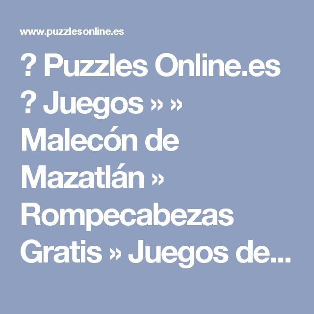 ✅ Puzzles Online.es  👍 Juegos »      » Malecón de Mazatlán » Rompecabezas Gratis » Juegos de     » Malecón de Mazatlán Puzzles Jigsaw