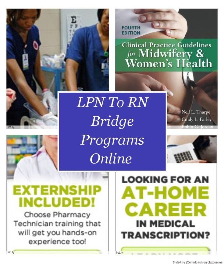 LPN To RN Bridge Programs Online