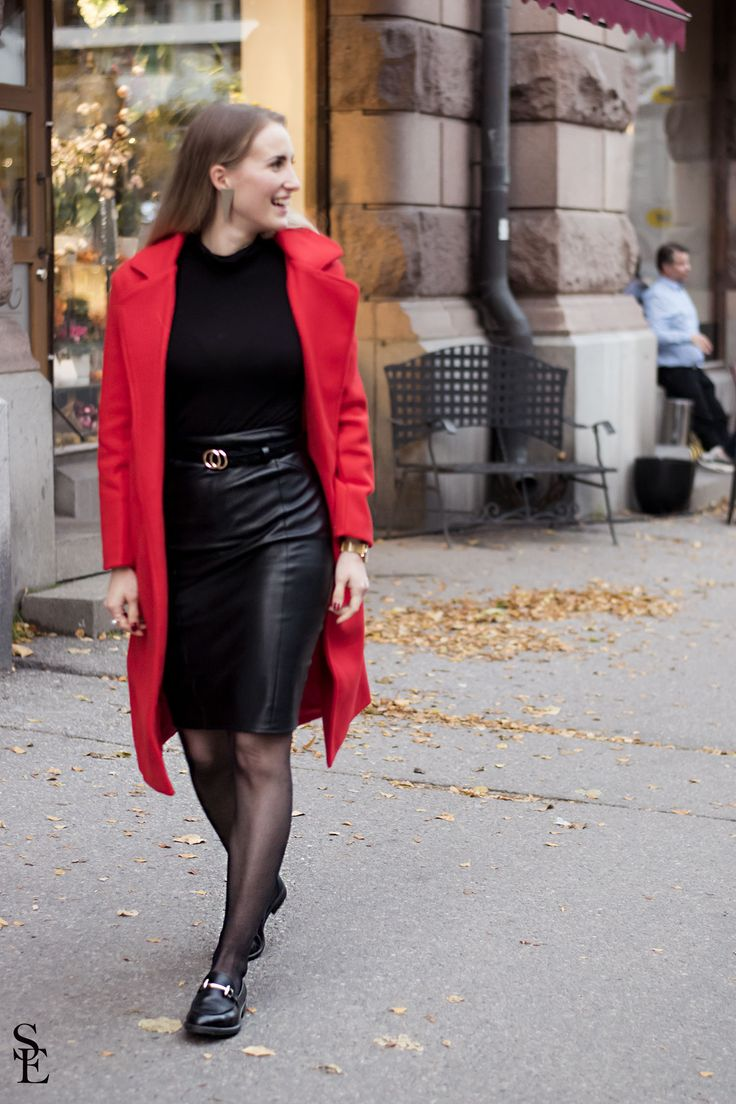 sandraemilia, outfit, red, coat, fall, 2017, trend, light in the box