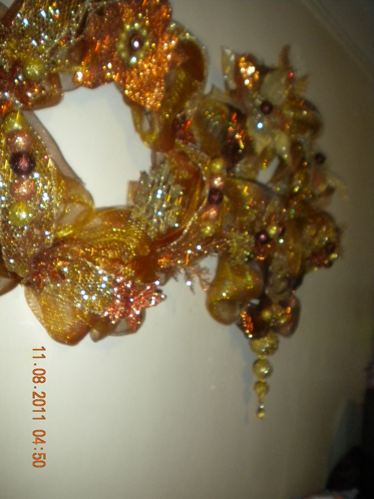 From the Shimmering Gold, Copper and Bronze Collection, I sold about 10 of these Beauties...