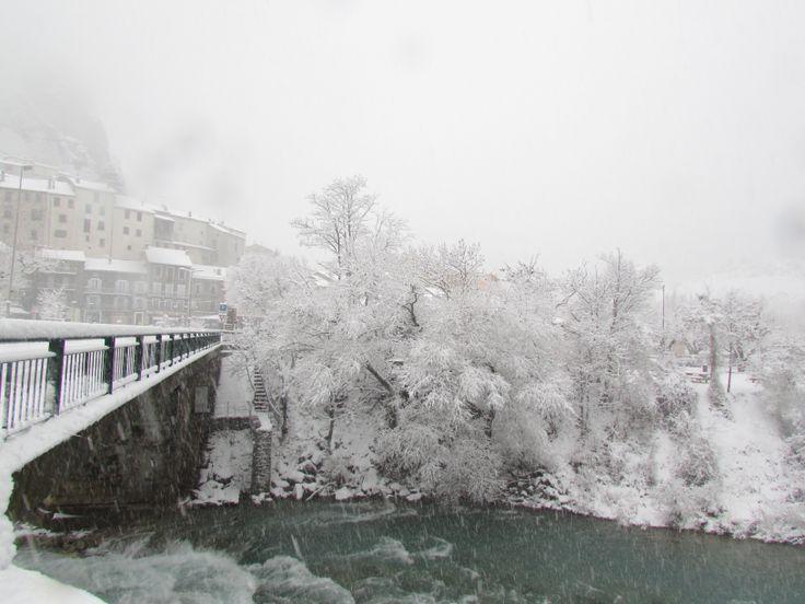 Le pont du Buëch à  SERRES