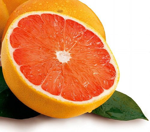 Ruby Red Grapefruits are great for juicing and the taste will leave you smiling. The fruit looks like ordinary grapefruit, except the rind is thicker and ripens with a red hue. Ruby Red Grapefruit tre