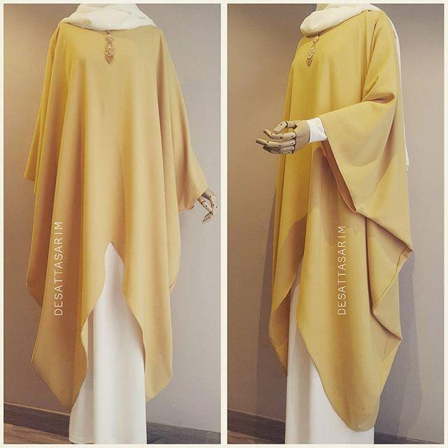 Sari v tunik 250tl ekru salaş elbise 130tl ▫Bu ürün dış kıyafet olarak üretilmemiştir cilbablarınızı üzerlerinize alınız.