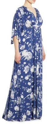 Rachel Pally, Plus Size Floral-Print Caftan Gown (affiliate)